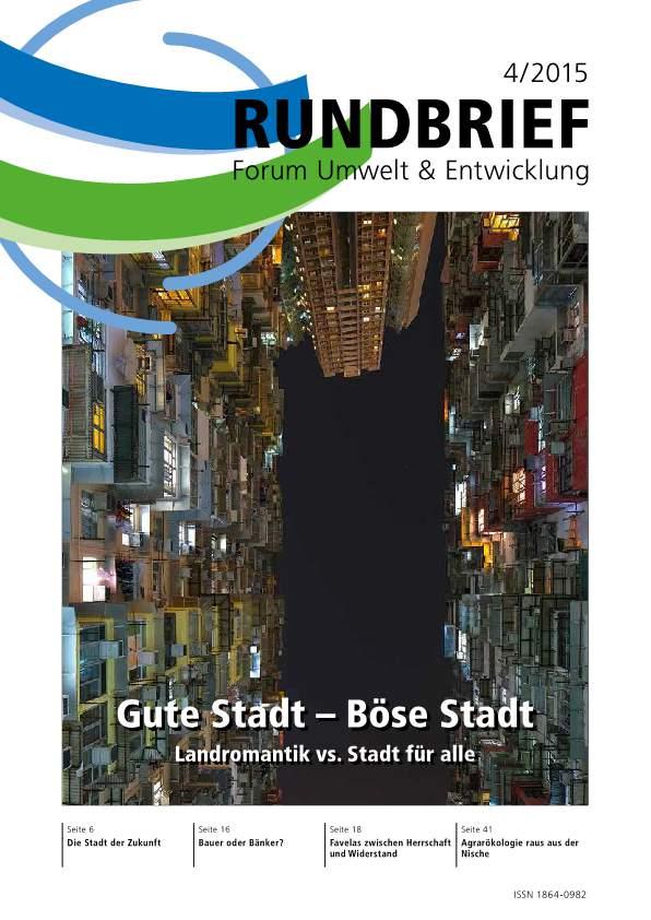 Cover_Rundbrief_Forum Umwelt und Entwicklung_IV 2015-p1