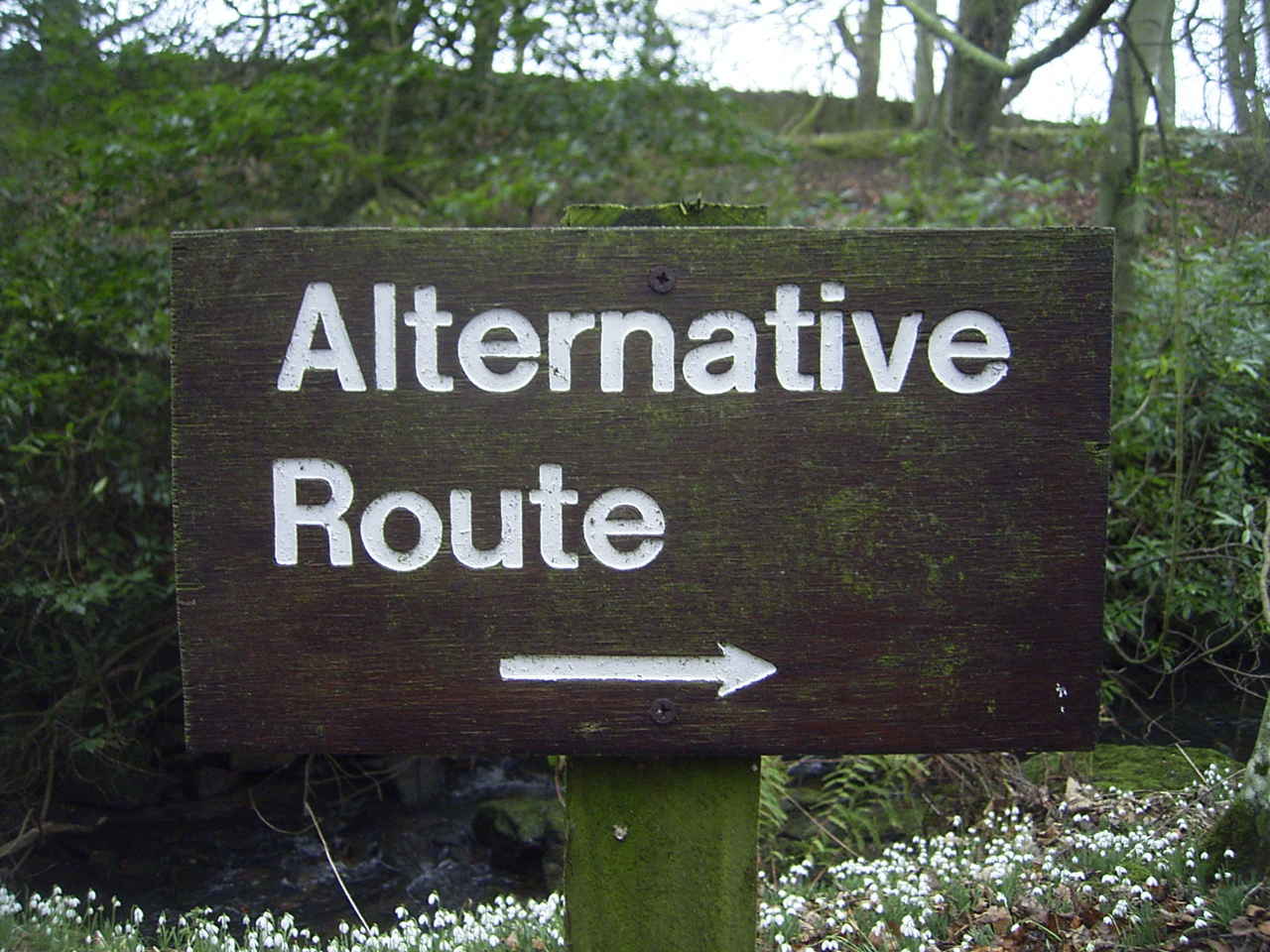 alternative route: duncan c CC BY-NC 2.0